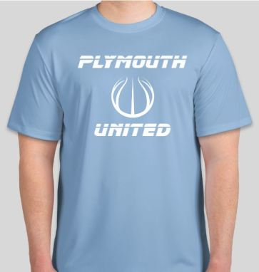 Light Blue Tshirt front 18