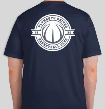 Navy Tshirt back 18