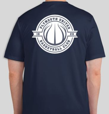 Navy Tshirt back 18