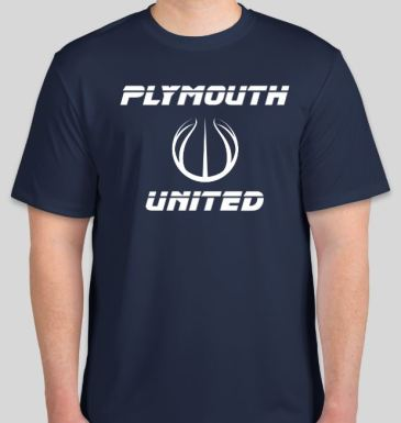 Navy Tshirt front 18