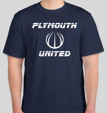 Navy Tshirt front 18