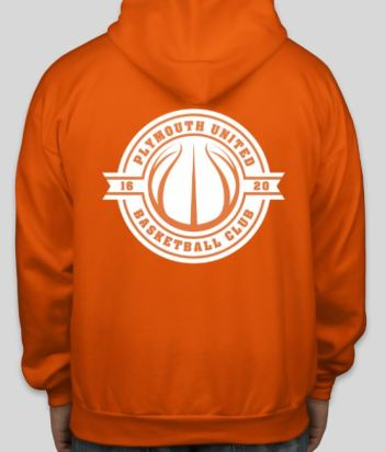 Orange United Back Sweatshirt 18