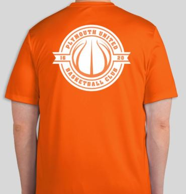 Orange United Tshirt 18 back